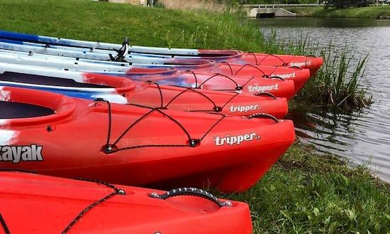 Tandem Kayak Rentals On Senaca River