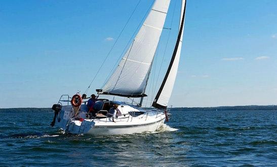 Maxus 28 White Sailing Monohull Charter In Węgorzewo