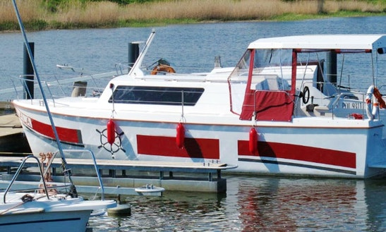 Houseboat Rental In Rybina - Poland
