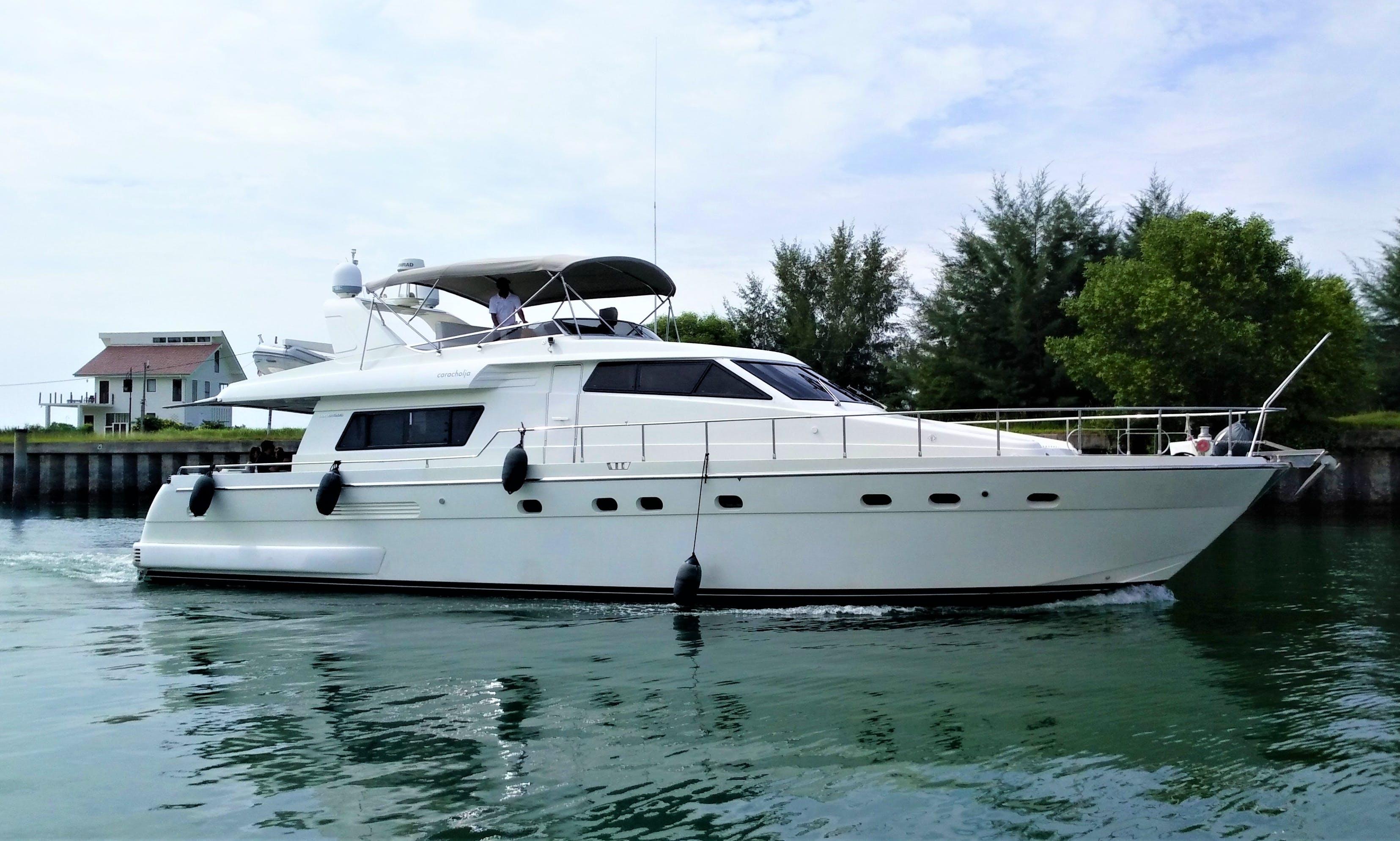 Charter a 62' Sanlorenzo Power Mega Yacht in Port Dickson, Malaysia