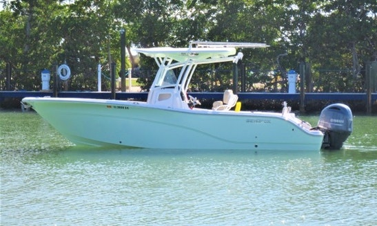 26'  Sea Fox Commander Center Console Rental In Marathon, Florida