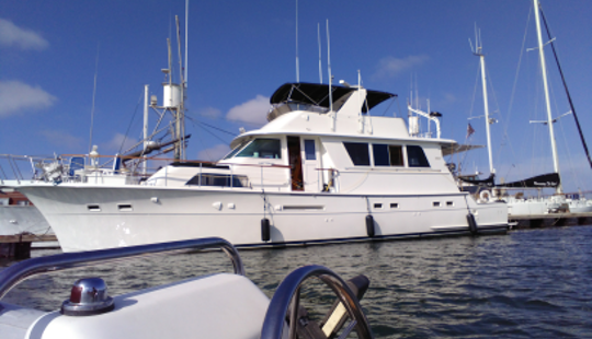 Treat Your Family & Friends On This Amazing Yacht In San Diego, California