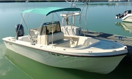 Rent The 20' Mako Center Console In Marathon, Florida