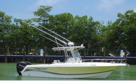 Enjoy The Florida Keys With The 29' Pro Line Center Console