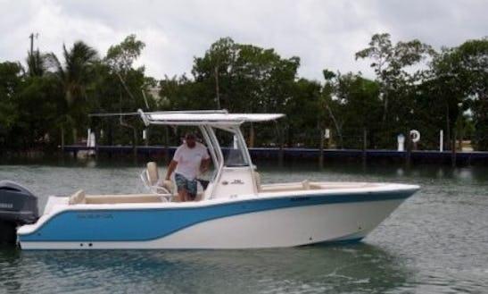 8 People - 24' Sea Fox Commander Center Console In Key West