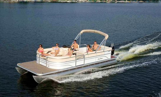 Rent This 25' Sunchaser Pontoon In Key West, Florida