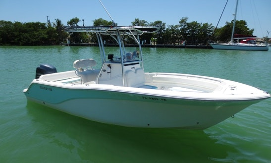 22' Sea Fox Center Console Rental In Key West, Florida