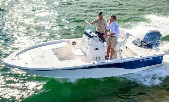 20' Sea Fox Viper Deck Boat Rental In Key West, Florida