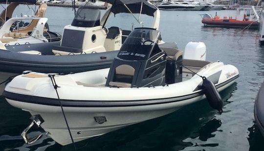 Charter 23' Lomac Rigid Inflatable Boat In Split, Croatia