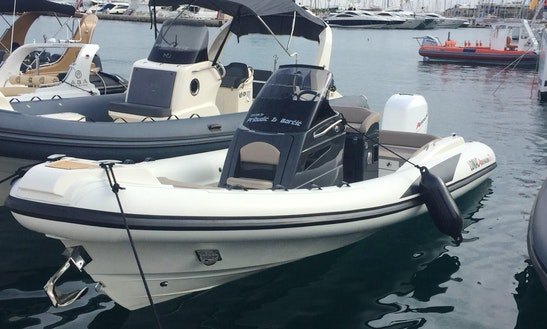 Charter 23' Lomac Rigid Inflatable Boat In Split, Croatia