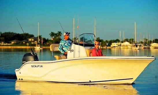 18' Sea Fox Commander Center Console Rental In Stock Island, Florida