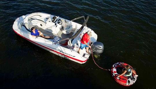 19' Deck Boat Rental In Stock Island, Florida