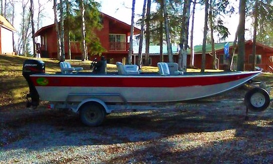 Plan Your Next Day Fishing Activities With Jon Boat For 8 Person  In Soldotna, Alaska