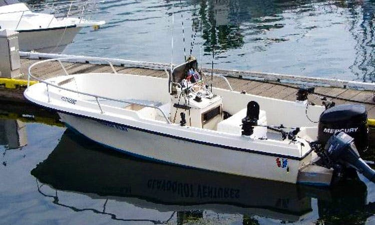 'Power Play' Fly Fishing Charter in Tofino