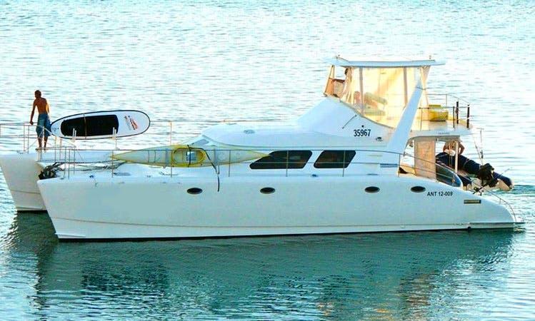 Experience Noumea on 47ft  Power Catamaran