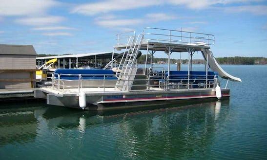 Charter 30' Double Decker Pontoon In Stock Island, Florida