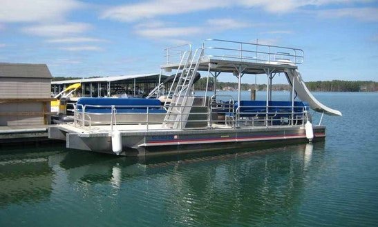 Charter 30' Double Decker Pontoon In Stock Island, Florida