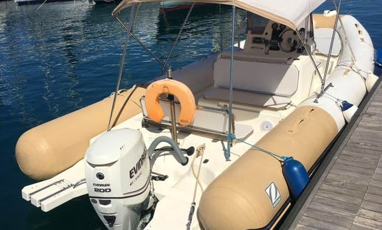 Charter 25' Zodiac Rigid Inflatable Boat In Il-kalkara, Malta
