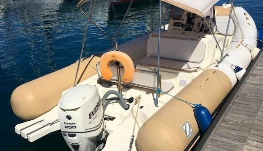 Charter 25' Zodiac Rigid Inflatable Boat In Il-kalkara, Malta
