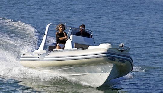Charter 23' Lomac Rigid Inflatable Boat In Il-kalkara, Malta