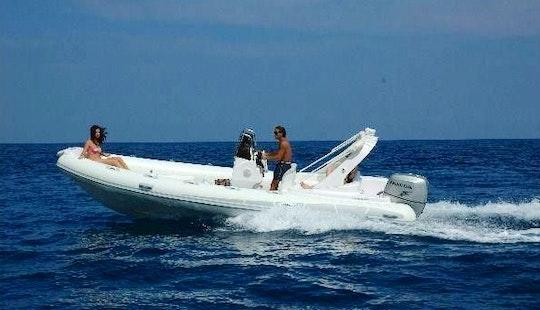 Charter 21' Stingher Rigid Inflatable Boat In Il-kalkara, Malta