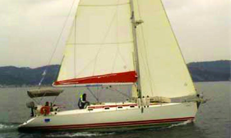 """Fafos 2"" Sailing Yacht Charter in neos marmaras Halkidiki"