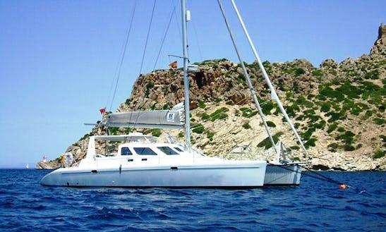 Catamaran Sail Training In Palma