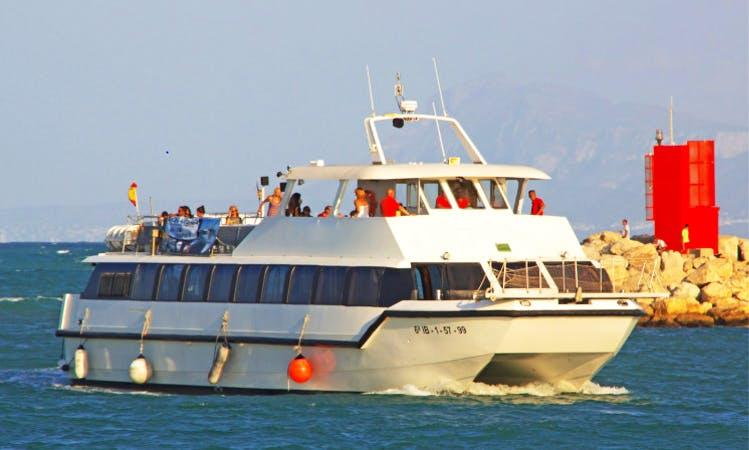 """Luxurious """"Boramar"""" Power Catamaran Charter in Spain"""