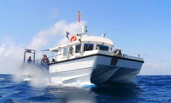 33' Power Catamaran Charter In Torrevieja, Spain