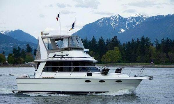 Charter 35' Cooper Prowler - 'Groovy IV Life' Motor Yacht Vancouver, Canada