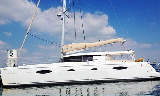 Salina 48 Sailing Charter In France