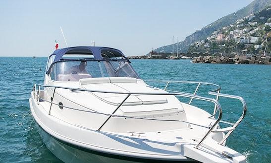 Motor Yacht Rental In Amalfi