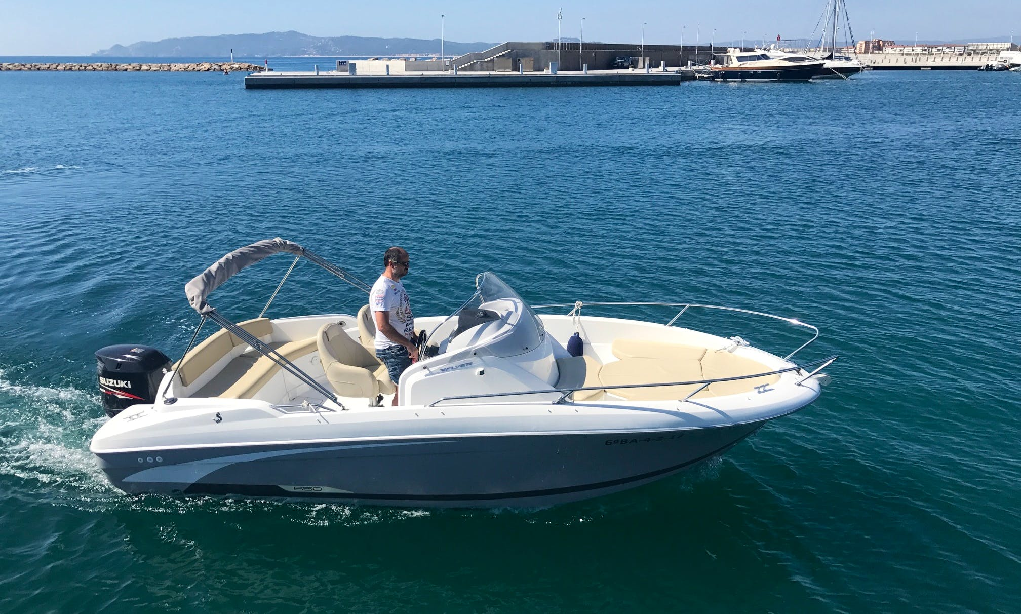 BENETEAU FYER 650 OPEN-Motor Yacht rental in Estartit