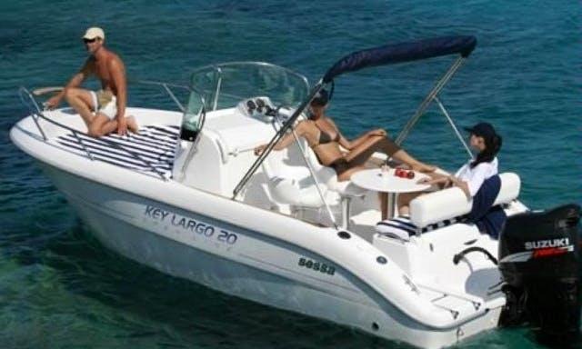 SESSA KEY LARGO 20-Motor Yacht rental in Torroella de Montgrí