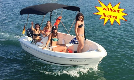 Quicksilver Captur 410 Fish Boat - Rent Without Licence In Palma, Spain