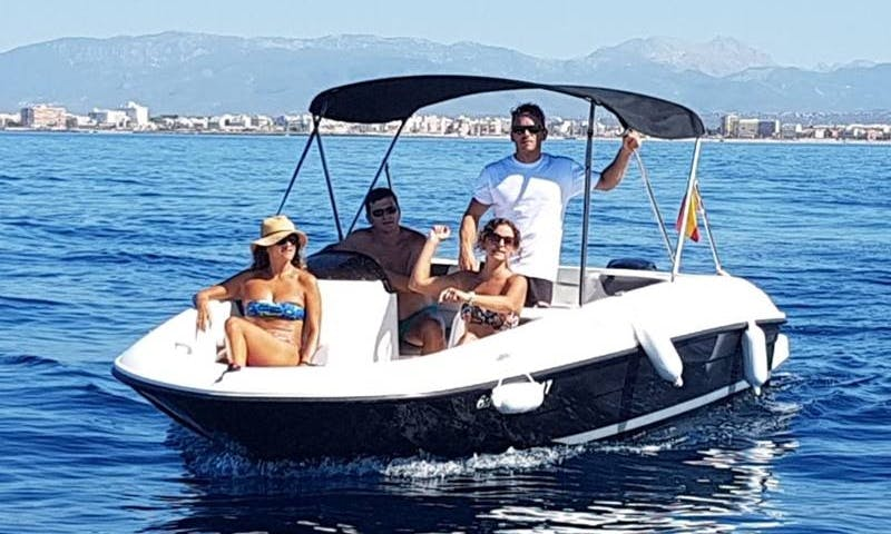 Rent this boat B540 'Gaia' without license in Palma, Spain