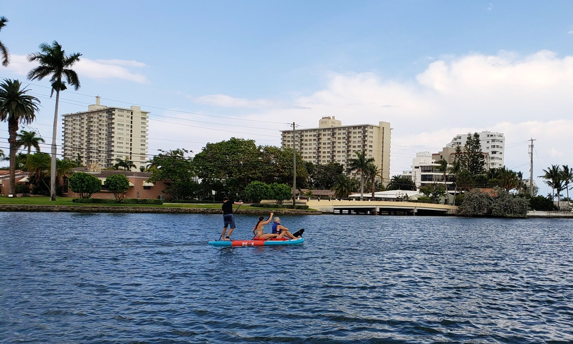 Multi-person Paddleboard in Fort Lauderdale