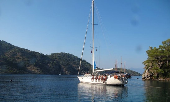 Cruise In Muğla, Turkey On A Monohull Charter With Captain