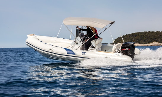 Rent 19' Tiger Marine 550 Sportline Rib In Vrsar, Croatia