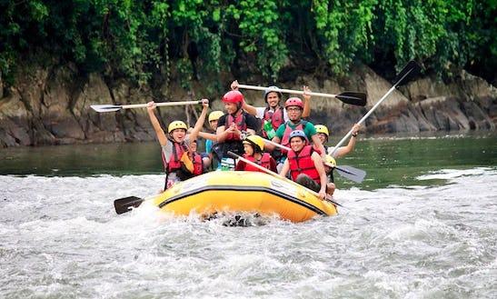 Enjoy Rafting In Kota Kinabalu, Malaysia