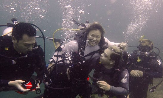 Enjoy Scuba Diving In Kota Kinabalu, Malaysia