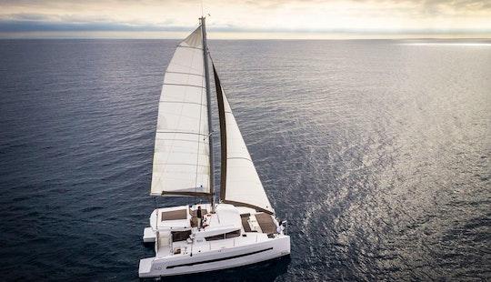 Charter 41' Bali Cruising Catamaran In Capo D'orlando, Italy