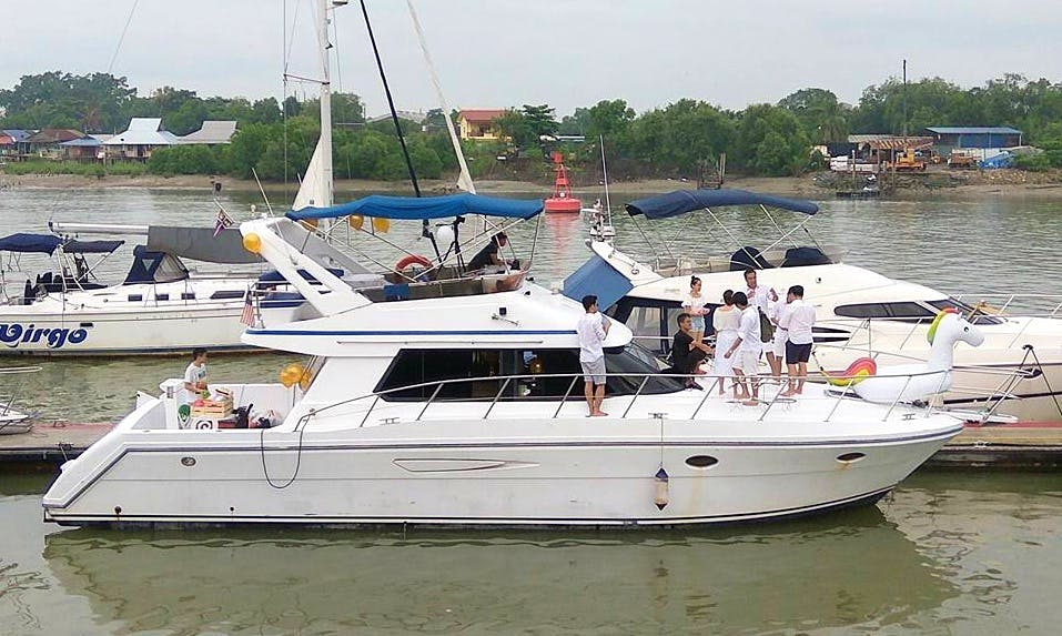 48' Nova Motor Yacht in Port Klang