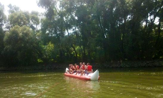 Enjoy Tubing In Győr, Hungary