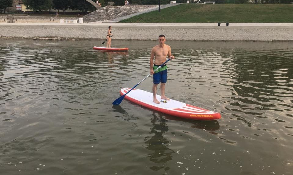 Enjoy Stand Up Paddleboard Rentals in Győr, Hungary