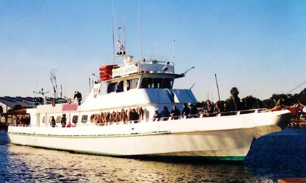 300 person fishing vessel charter in new york getmyboat for Fishing trips nyc