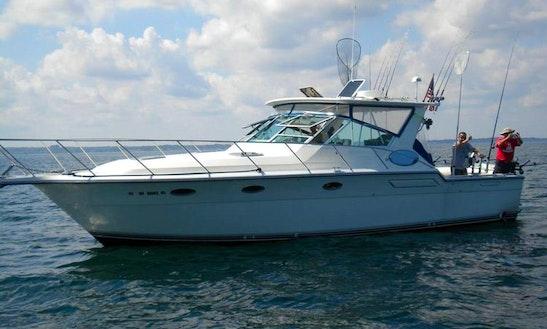 3600 Tiara Open Yacht Charter In Webster