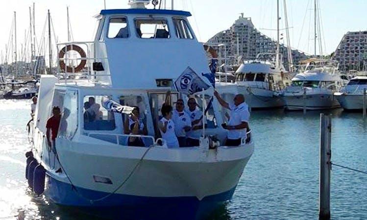 Charter Exo7 Passenger Boat in La Grande-Motte, France