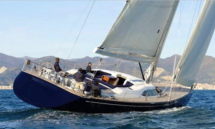 Charter Matelot 80' Sailing Yacht in the Caribbean