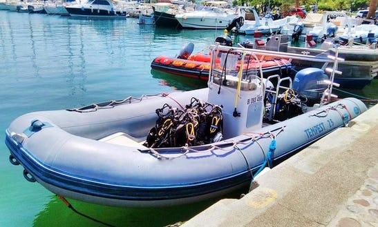 Enjoy Diving Courses In Calvi Corse, France